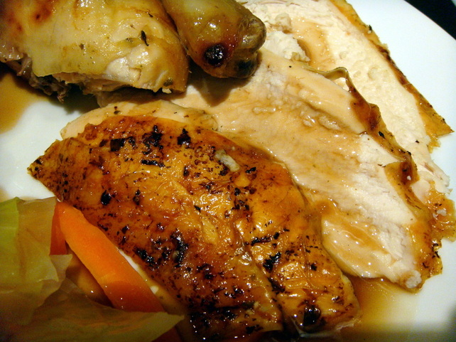 Anyone hungry? Healthy Roast Chicken Dinner!
