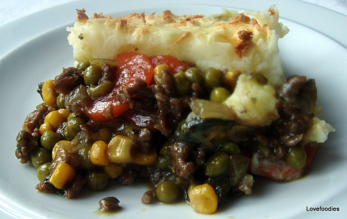 East Meets West Cottage Pie