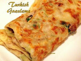 Gozleme,Turkish Bread