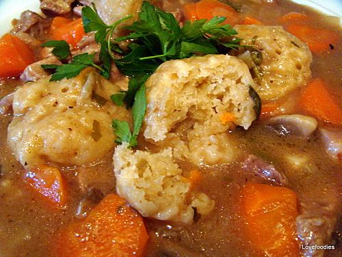 Grandma's Meat & Dumpling Casserole