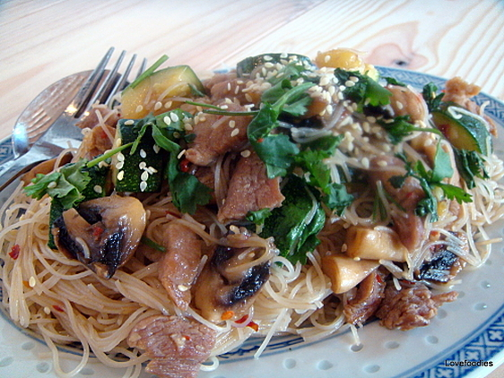 Fast Fried Chinese Noodles