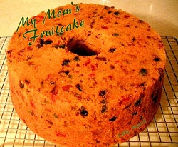My Mom's Fruit Cake