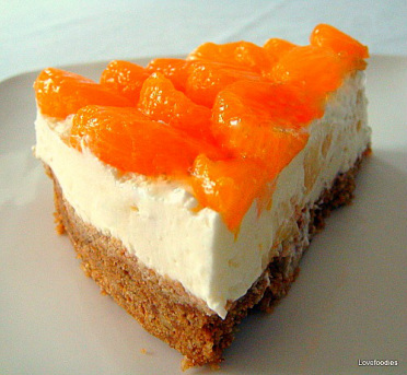 Mandarin & Pineapple Cheesecake