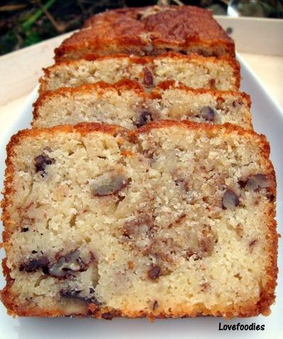 Moist Pecan Almond Loaf