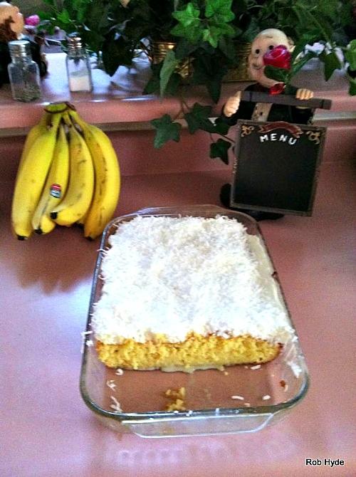 Super Moist Coconut Sheet Cake
