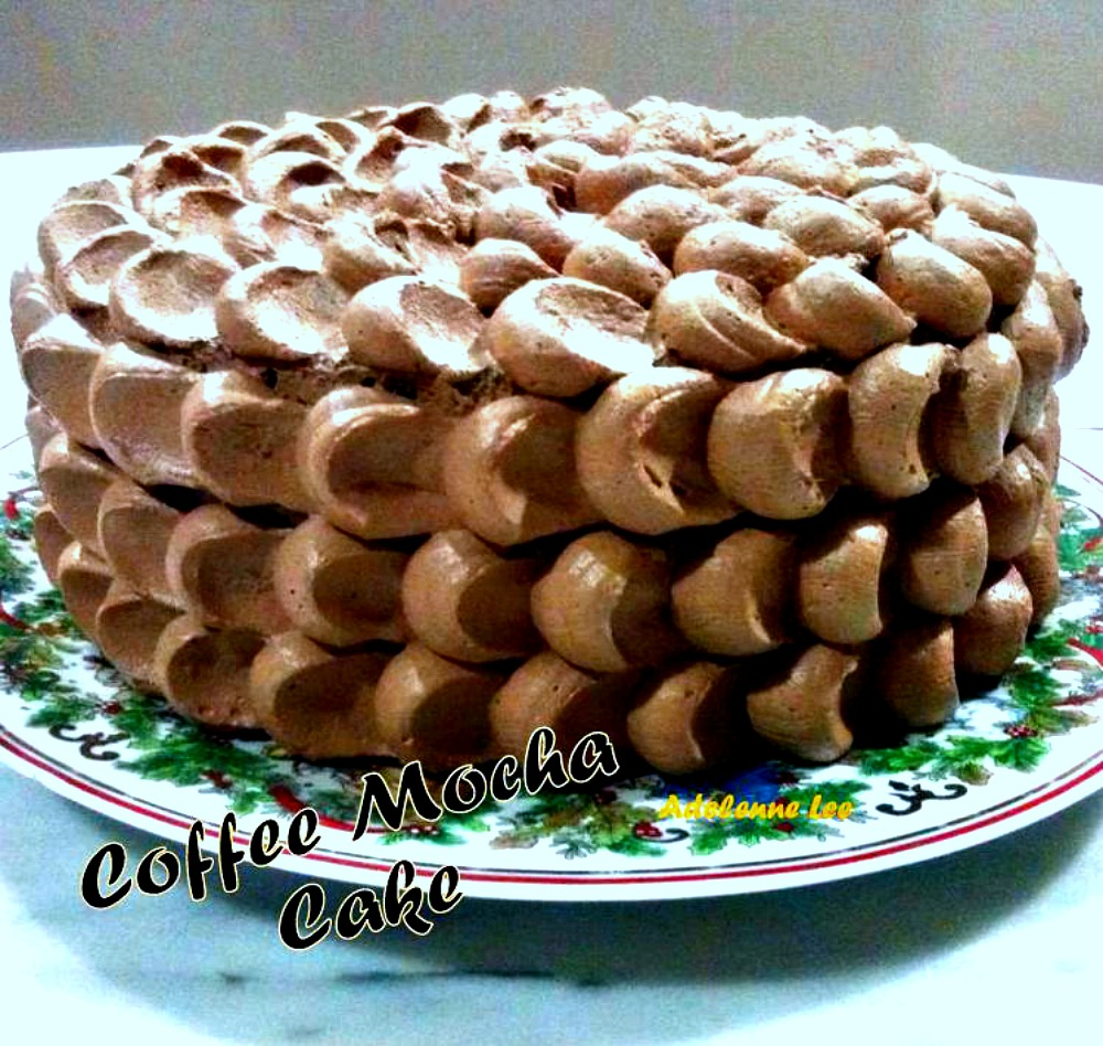 COFFEE MOCHA CAKE. Oh yesssss! Easy to make, super moist and of course ...