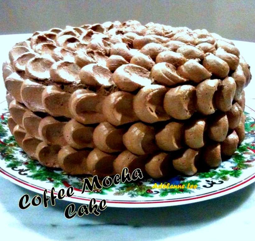 Coffee Mocha Cake