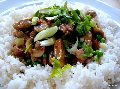 Quick Pork & Mushroom Stir fry