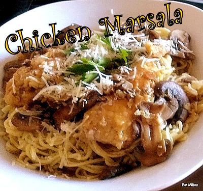 Nanny Pat's Chicken Marsala