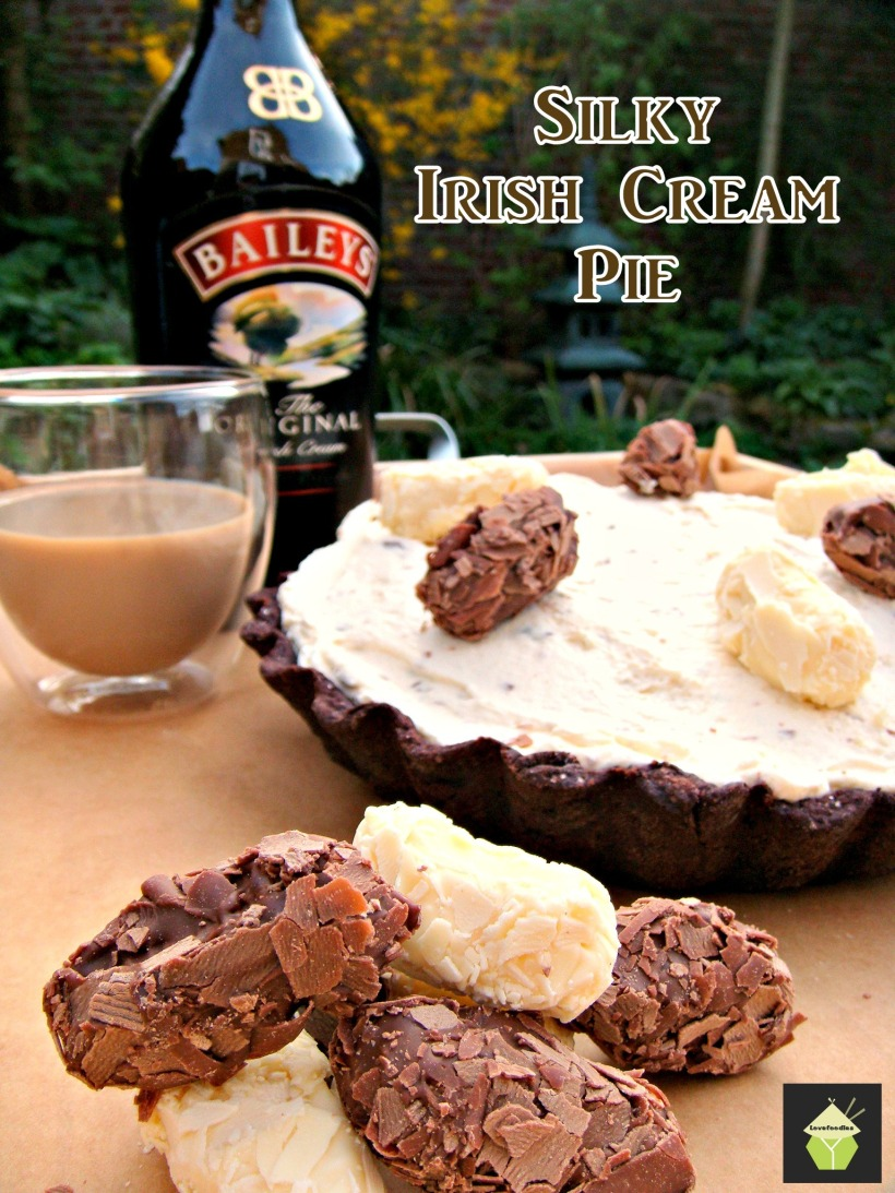 luxury Irish Cream Pie