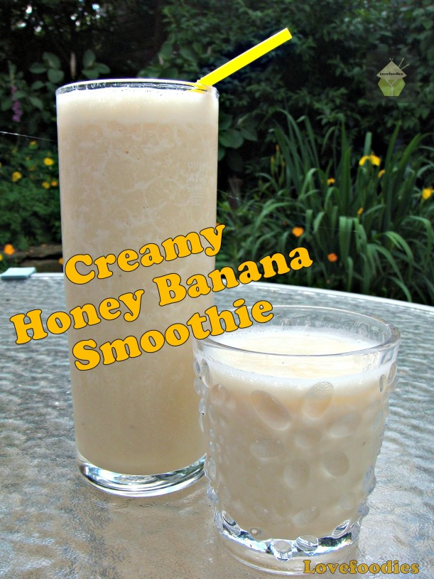 Creamy Banana Honey Smoothie