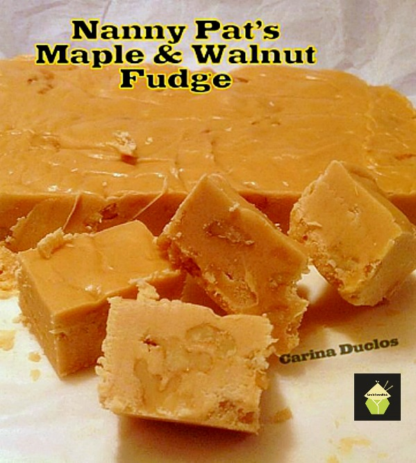 Nanny Pat's Popular Maple Walnut Fudge. Great for gifts or all for ...