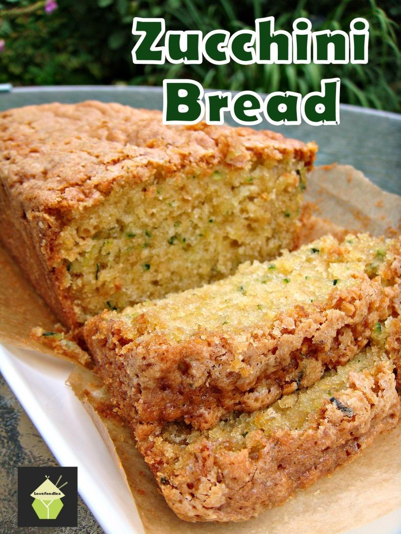 Moist Zucchini Bread