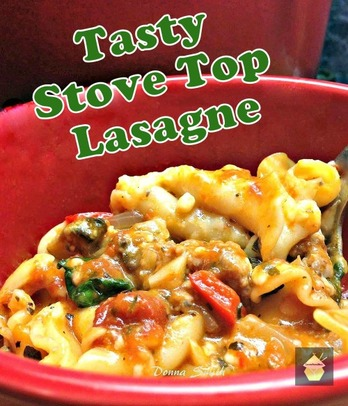 Stove Top Lasagne