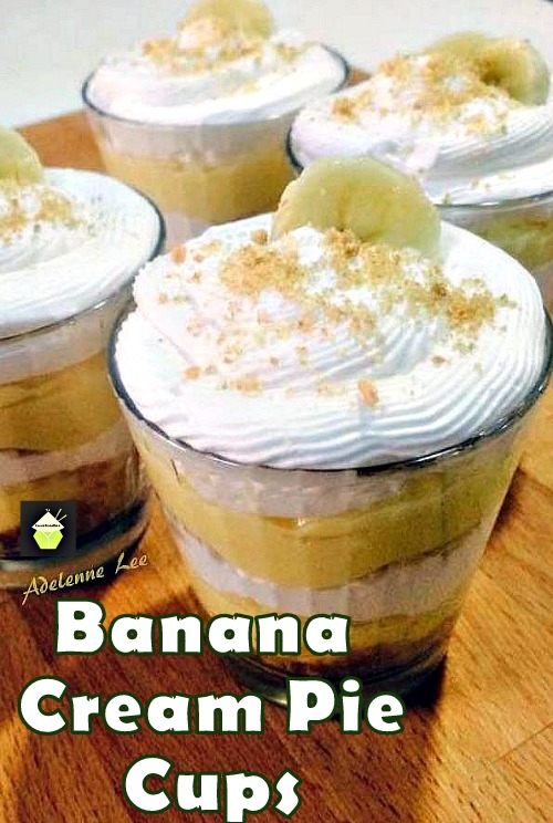 Banana Cream Pie Cups