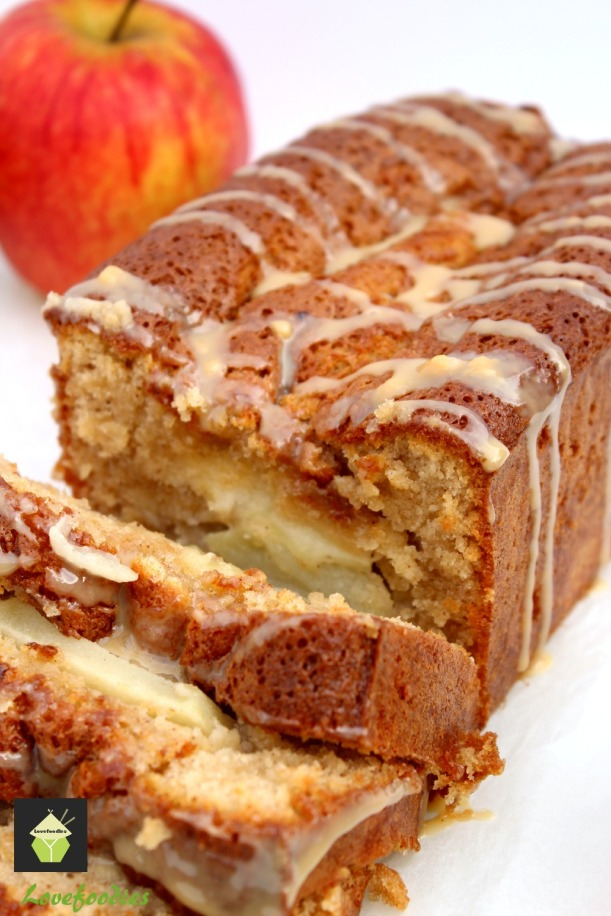 Caramel and Apple Loaf