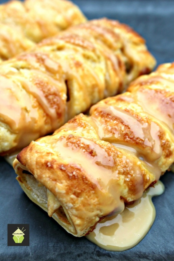 Mini Caramel Apple Pastries